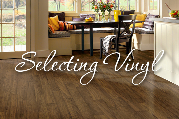 Selecting Vinyl Flooring from Abbey